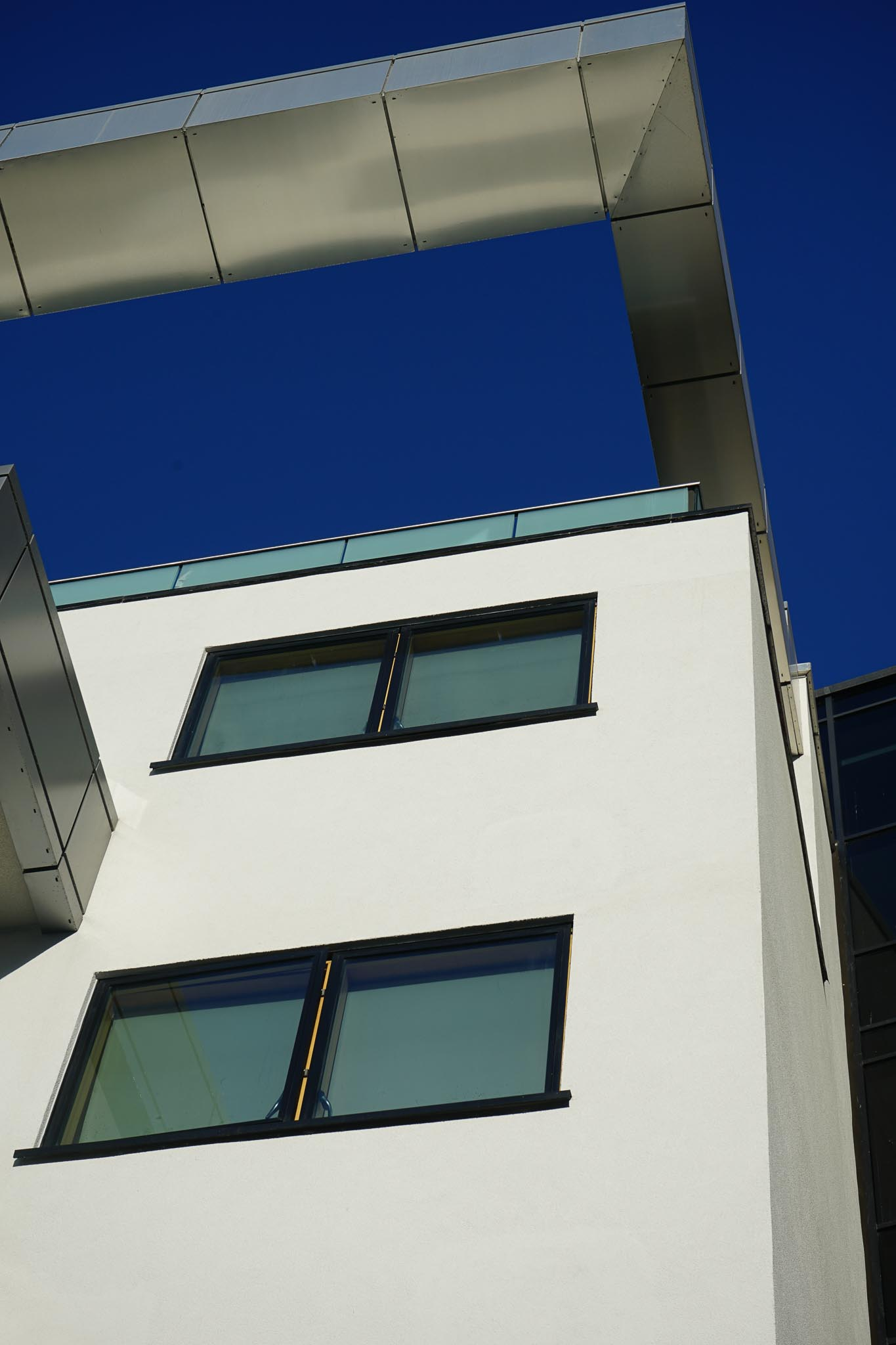 render on outside of wall in west london construction
