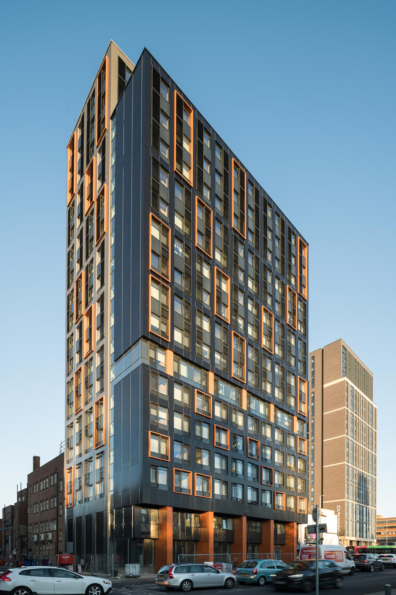 cladding for high rise buildings