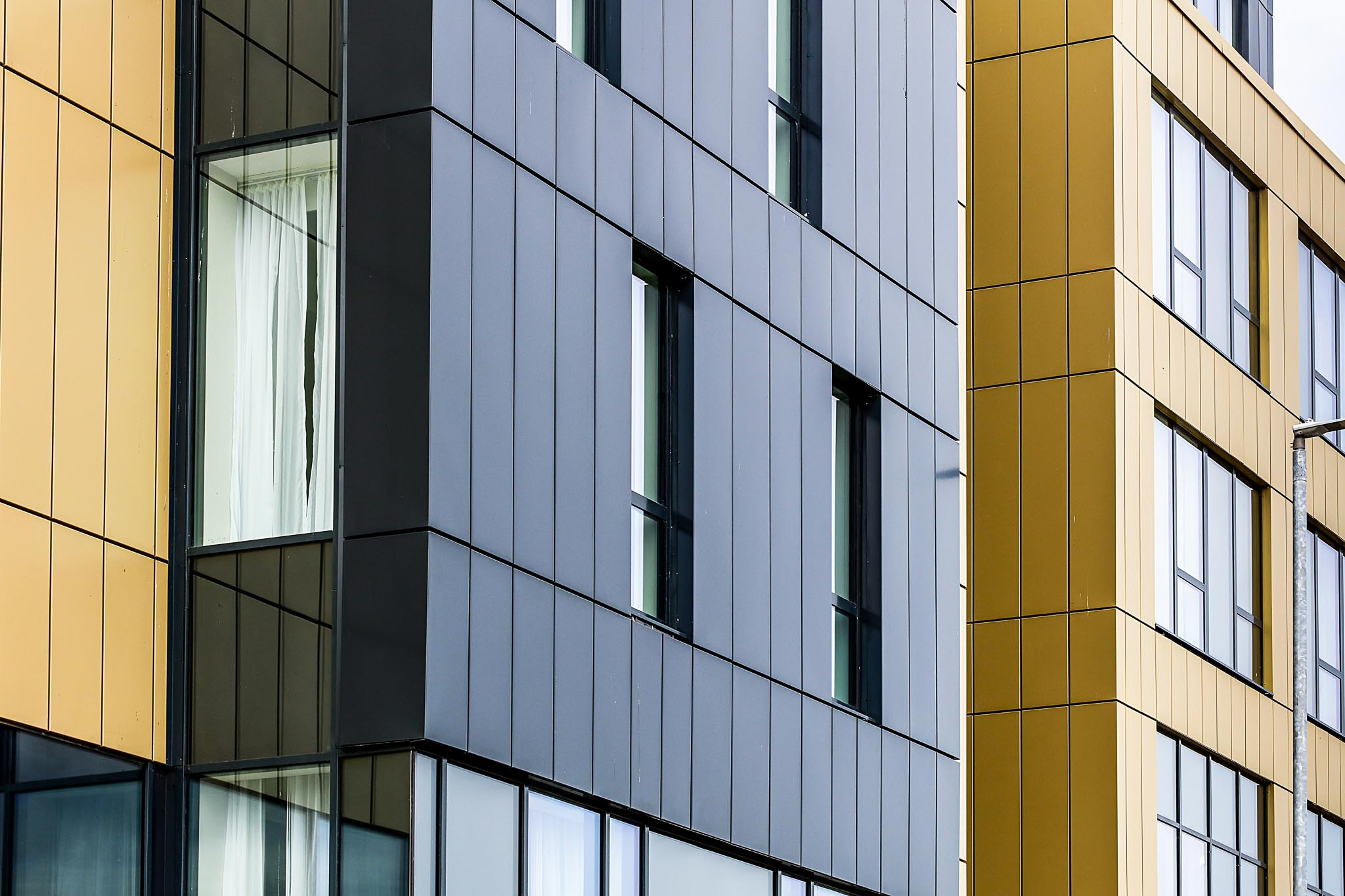 cladding and windows for west london hotel