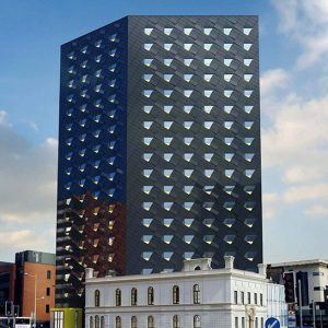 Custom house cardiff cladding